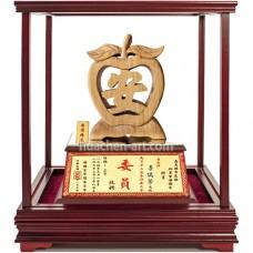 UIB-102 玻璃櫥櫃-平安(台灣檜木)