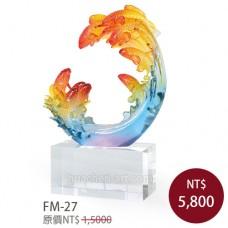 FM-27  造形水晶獎盃