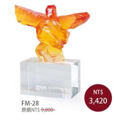 FM-28  造形水晶獎盃