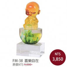 FM-38水精琉璃雕塑