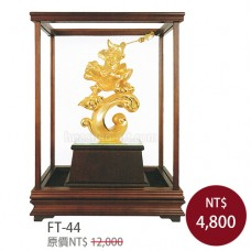 FT-44武財神 關公 恩主公 關聖帝君-玻璃櫥