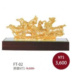 FT-02琉金雕塑