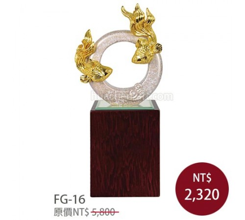 FG-16琺瑯彩獎牌 圓融