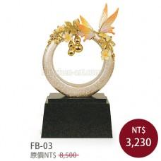 FB-03琺瑯彩雕塑