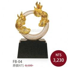 FB-04琺瑯彩雕塑