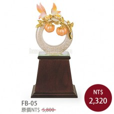 FB-05琺瑯彩雕塑
