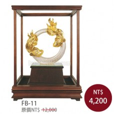 FB-11琺瑯彩玻璃櫥 (大)