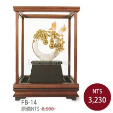 FB-14琺瑯彩玻璃櫥