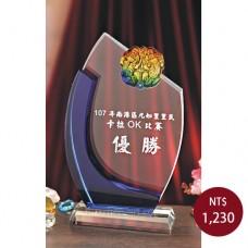 C030-B琉璃水晶(招財貔貅)
