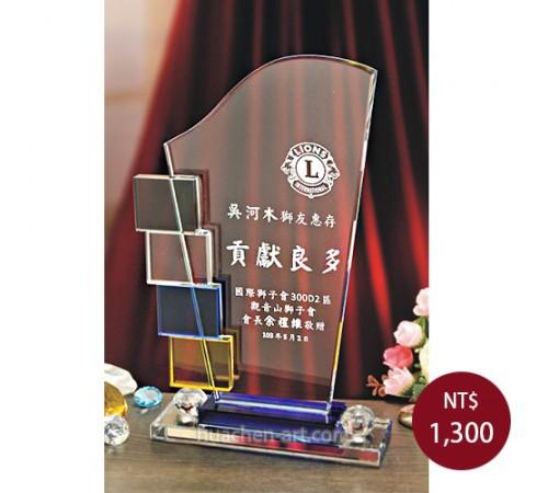 C035-L水晶獎盃
