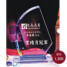 C036-L水晶獎盃