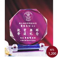 C038水晶獎盃