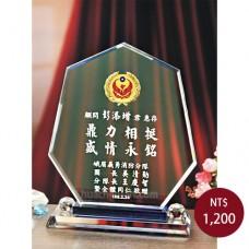 C039-B水晶獎座