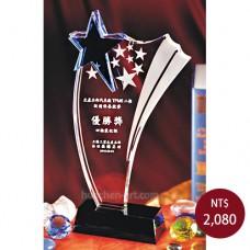 C061-1水晶獎盃