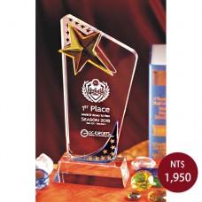 C062水晶獎盃