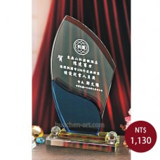 C075水晶獎盃