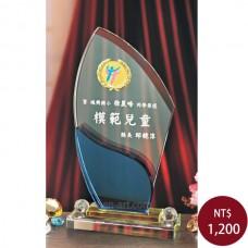 C075-A水晶獎盃