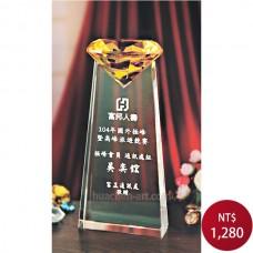 C077水晶獎座