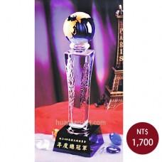 C615水晶獎牌
