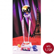 C616水晶獎牌