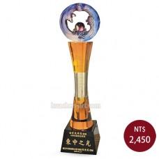 C617-B 黑晶琉璃獎盃