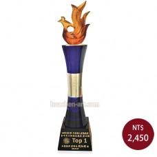 C618-A 黑晶琉璃獎盃