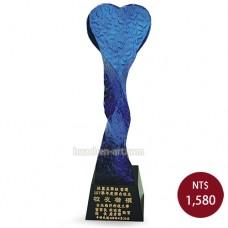 C619-D 黑晶琉璃獎盃