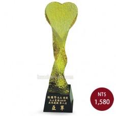 C619-E 黑晶琉璃獎盃