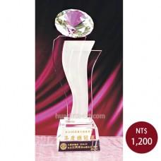 C670水晶獎座