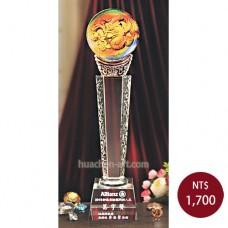 C671-B琉璃水晶獎座