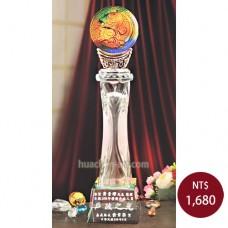 C701-D琉璃水晶獎座