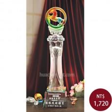 C701-C 中柱水晶 志在千里獎盃