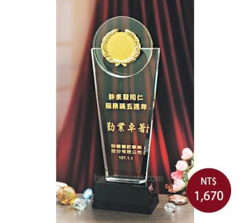 C765水晶獎盃