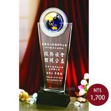 C765-A水晶獎盃