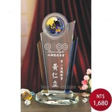 C817-B3水晶獎牌