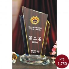 C817-B1水晶獎盃