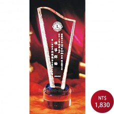 C820水晶獎座