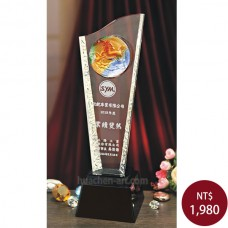C826琉璃水晶獎座