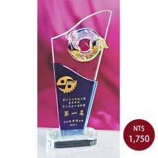 C830B琉璃水晶獎座