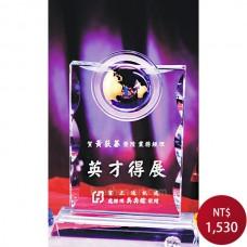 C832-B水晶獎座