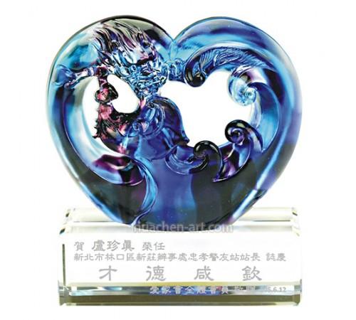 C8360琉璃精品 龍鳳呈祥