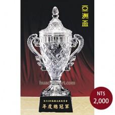 C872亞洲盃-水晶獎座