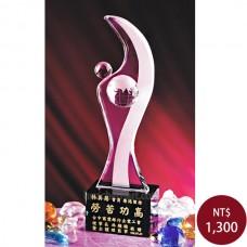 C913-A水晶獎盃