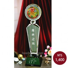 C930-C水晶獎座 (麒麟)