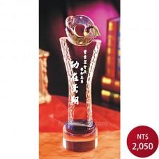 C933-B琉璃水晶獎座