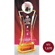 C959 水晶獎牌