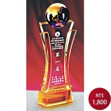 C959-A水晶獎牌