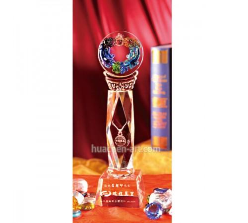 琉璃水晶獎座