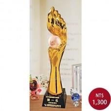 PLG-10 黑晶鍍金獎盃
