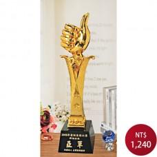 PLG-19 黑晶鍍金獎盃